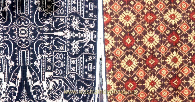 How the Bali Double Ikat Geringsing textiles are made