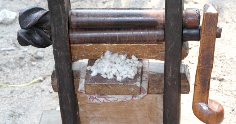 The Weavers Cotton Gin, an ancient tool that functions for life